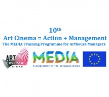 "PARTICIPATE TO THE CONTEST ORGANIZED BY CICAE FOR THE 10TH ANNIVERSARY OF ITS TRAINING ""ART CINEMA = ACTION + MANAGEMENT"