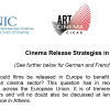 Cinema Exhibitors' Statement on Film Release Strategies in Europe