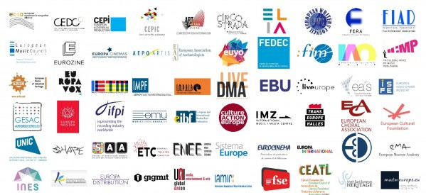 Open letter to EU leaders from Europe's cultural and creative sectors